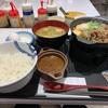 【松屋】『選べる小鉢の牛鍋膳』の件