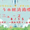 【2019.8.15(木)】今日のFXニュース~経済指標や値動きなど~【FX初心者さん向けに解説】