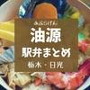 【日光駅弁まとめ】安政6年創業!老舗「油源」食べちゃった9種類のお弁当紹介!