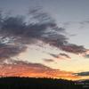 87 夕焼け 雲