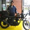 私が乗っていた、カワサキ 250TR