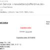 ドメイン関連のスパムメールDomain Serviceにご注意
