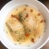 ママランチ 新玉ねぎとキャベツのスープ絶品です❣️