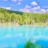 【北海道】インスタ映えな青い池。
