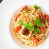"""""""イタリアンパセリは具材ですっ!""""アンチョビとイタリアンパセリのパスタのレシピ・作り方"""