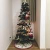 マルチルームと玄関をクリスマス仕様に