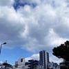 ★朝通勤のモヤ雲