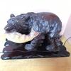 家に木彫りの熊、ありますか?