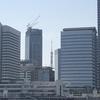 hatenaより『ビルと東京タワー』です🏢🗼✈