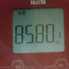 ダイエット日記 3日目 (開始から-0.35キロ)