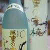 #0158 RICOH GRで撮影した日本酒「三重の寒梅」とスイカ。