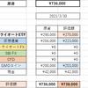 投資生活 31回目 総資産 738,000円