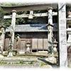 木造の両部鳥居が印象に残る知多郡美浜町「熊野神社」