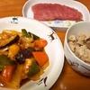 酢豚 (鶏ささみ肉)