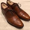 革靴コーデ REGAL02DRCD ブラウン靴とパンツを合わせる