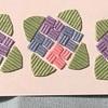 (切って貼る)紙バンドの紫陽花【紙バンド・エコクラフト手芸】