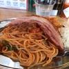 錦町 横浜マリンハイツの「横浜ナポリタン PUNCH 本牧ふ頭店」でダブルパンチ