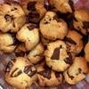 チョコチップクッキーを焼き、抹茶チーズケーキのパルムを食べる