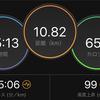 ジョギング10.82km・【ダニエルズ第6週Q3】ダニエルズさんのフェーズⅠも終了の巻