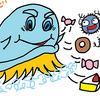 スクラビングバブルのスタンプのやつ、カビが繁殖したから嫌い | Toilet detergent