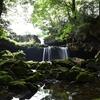 神鍋高原八反の滝 二段滝