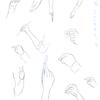 【44】 6/16 「手を練習する。-模写をして手を考える-」