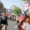 5月5日のマクロン反対運動