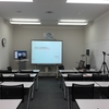 受講生はネットの向こう。Skype for Businessを使った大学院の授業風景。