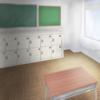 パズルゲーム(教室) イラスト練習