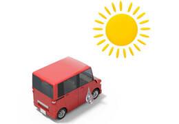 クルマでのお出かけ直前や出発後にできる暑さ対策とは?