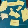 【塗装-ワーゲンバス初号機】ラジコンの塗装できるかな-2  マスキングテープを貼ってみよう