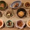 肴の天然きのこ料理 【終盤・・・天然きのこの前菜】