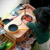 レーザーカッターで作るままごとキッチン