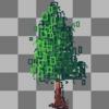ドット絵で簡単に木を描く方法を模索する