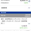 世界経済の減速懸念で米株暴落!!楽天ポイントでほったらかし投資記録(08/16)