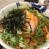 復活したビビン丼大盛 (@ 松屋 千石店 - @matsuya_foods in 文京区, 東京都)
