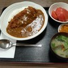 西川口の「あおき食堂」でカツカレー定食を食べました★