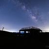 【天体撮影記 第156夜】 山口県 星が輝く夜空の下、秋吉台のカルスト台地へ