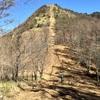 【笠取山】2014年11月14日 山頂直下は気合で登る! そして急登の先は絶景!(日帰り登山)