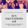 2019 SUNSALUTATIONS 108 第2回目が終了いたしました!