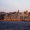 紅磡(Hung Hom)から北角へ、フェリーで渡ったら香港の夜景が綺麗だった