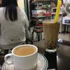 澳門で休憩は、地元喫茶室でミルクティー! @ マカオ