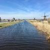 キンデルダイク風車群@オランダ