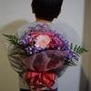 結婚記念日だったので、お花をお願いしました(*´ω`*)