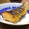 豊洲の「米花」で銀ダラ西京焼き、茄子とかぼちゃのそぼろ餡かけ。