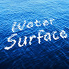 水面になびくロゴ。フィルタの置き換えで簡単に作成