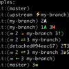 Gitメモ : Git RadarでPROMPTにリポジトリの状態を表示