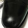 アドベース、アドカラーで革靴の傷隠し。