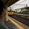 電車🚃だ!バス🚌だ!そして、屋台村だ☺️