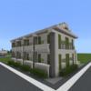 アパートを作る②  &  駅前を整備する [Minecraft #20]